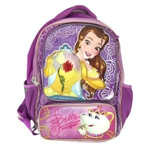 Disney Purple Belle Beauty and the Beast Backpack